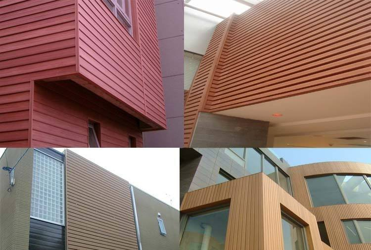 استخدامات الخشب البلاستيكى وقطاعات تجليد الحوائط الداخلية والخارجية
