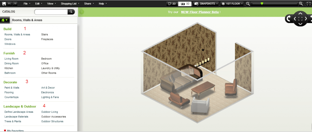 Homestyler 3D